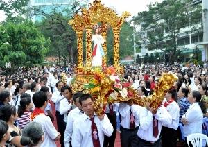 Đại lễ kính Lòng Chúa Thương Xót 2015