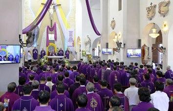 TGP Sài Gòn: Thánh lễ cầu cho các Giám mục và Linh mục đã qua đời