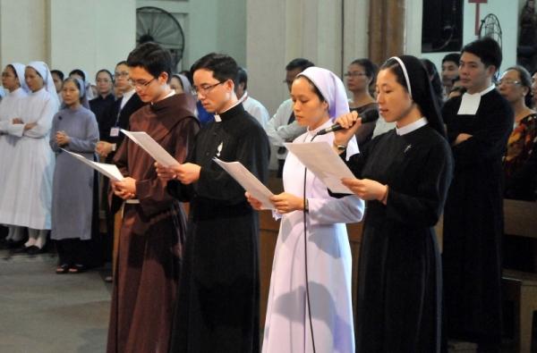 Bài giảng Thánh lễ khai mạc Năm Đời sống Thánh hiến