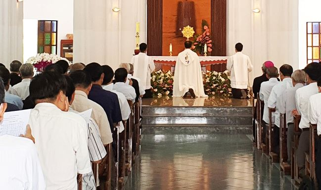 Linh mục đoàn TGP Sài Gòn tĩnh tâm tháng 4/2021