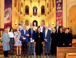 Nhà thờ chánh tòa Sài Gòn: Cuộc viếng thăm của phái đoàn quốc hội Bỉ