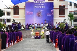 Thánh lễ an táng cha Phaolô Lê Tấn Thành (10.10.2018)