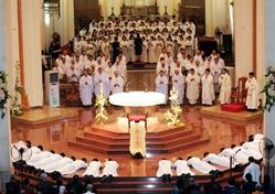 Thánh lễ Truyền chức Linh mục tại TGP Sài Gòn (7.6.2019)