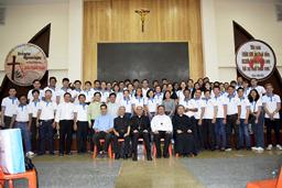 Đức Tổng Giám mục Toso thăm Đại Chủng viện Sài Gòn