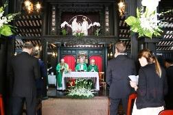 Tổng thống Italia tham dự Thánh lễ tại Toà Tổng Giám mục Sài Gòn
