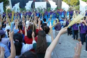 Niềm vui người trẻ ngày Đại hội (28.3.2015)