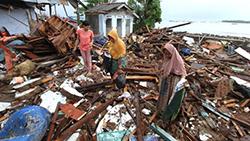 Giáo hội chung tay hỗ trợ nạn nhân sóng thần Indonesia