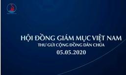 Hội Đồng Giám Mục Việt Nam: Thư gửi Cộng đồng Dân Chúa (5.5.2020)