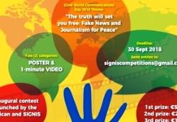 Cuộc thi 'video clip 1 phút' và poster cho Ngày TG Truyền Thông xã hội