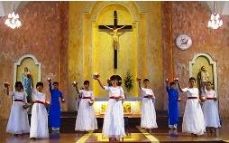 Múa ``Trinh vương Maria``