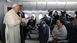 Phỏng vấn ĐGH Phanxicô trên chuyến bay từ Tokyo về Roma