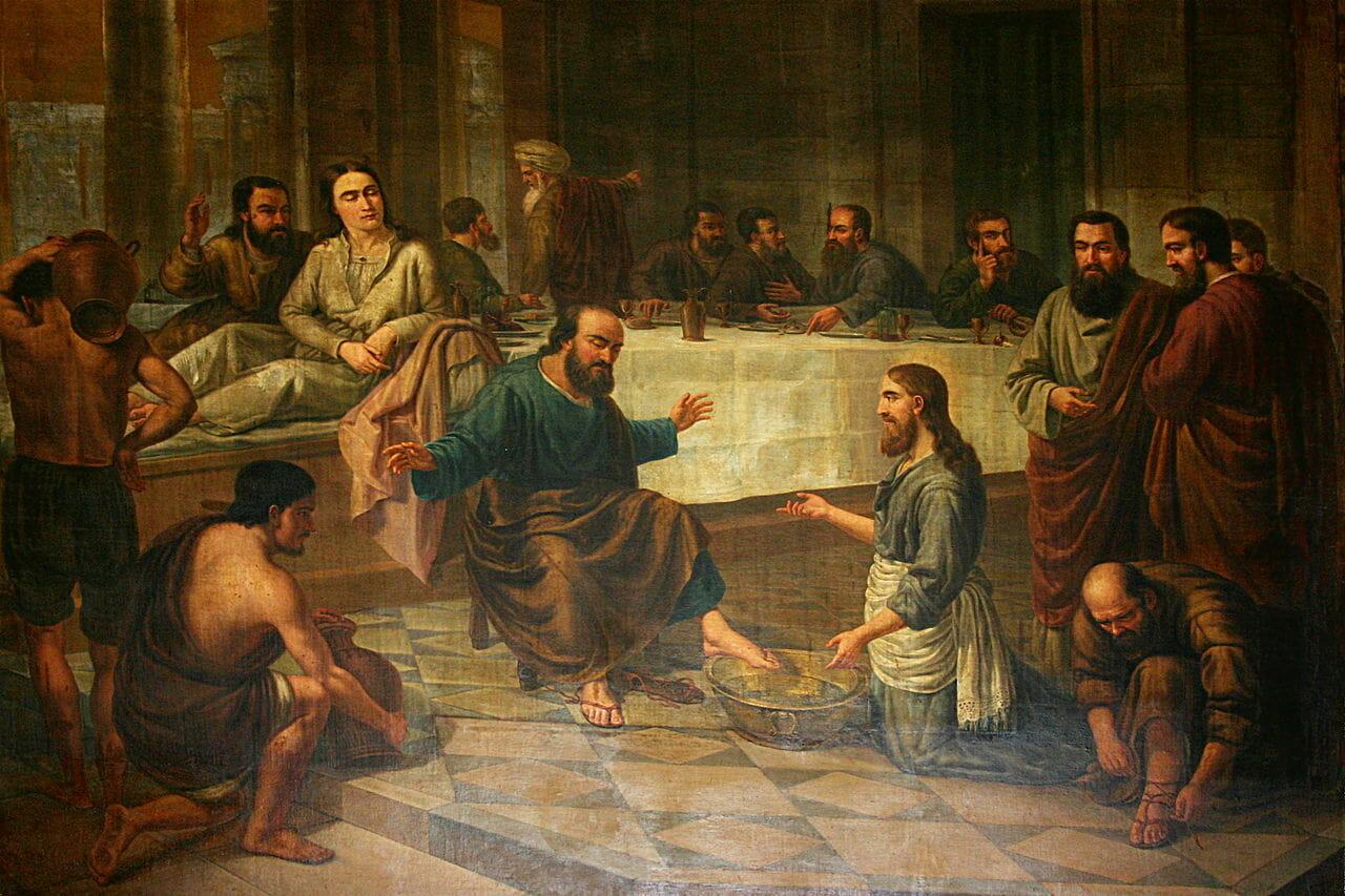 Phải rửa chân cho nhau- Suy niệm Tin Mừng thứ Năm tuần Thánh (1.4.2021)