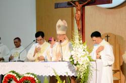 Mừng Ngân khánh Giám mục ĐHY  G.B Phạm Minh Mẫn