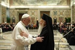 ĐTC gặp Đức Thượng Phụ Bartolomeo tại Vatican