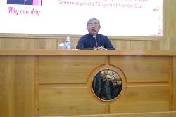 Đức Giám mục Louis Nguyễn Anh Tuấn huấn đức tại ĐCV Sài Gòn