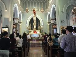 HVMV: Cảm nhận buổi hành hương nhà thờ Chợ Đũi