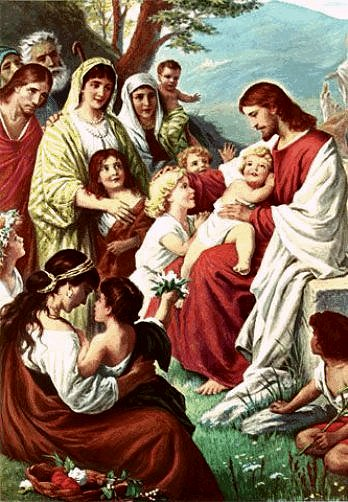 Daily Meditation: ``Little children were brought to Jesus that He might lay his hands on them with a prayer``