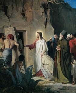 """Gospel for today: 5th Sunday of Lent- ``It is for the glory of God"""""""