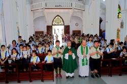 Hướng Đạo Sinh Công Giáo: Thánh lễ mừng kính Thánh Phanxicô Assisi