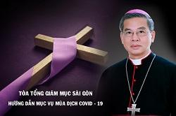 Tòa Tổng Giám mục Sài Gòn: Hướng dẫn mục vụ ngày 19.3.2020