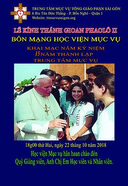 HVMV: Thánh lễ mừng Bổn mạng Học viên Mục vụ