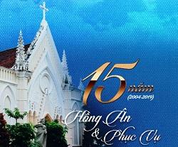 Thư mời: Chương trình kỷ niệm 15 năm thành lập Trung  Tâm Mục Vụ