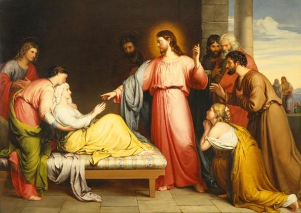 Bà vợ của thánh Phêrô (Mt 8,14-15 và 1 Cr 9, 5)