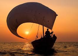 Cánh buồm căng gió