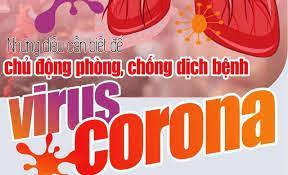 Thông báo: Phòng chống dịch bệnh viêm đường hô hấp do virus corona