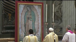 ĐTC Phanxicô sẽ chủ sự Thánh lễ kính Đức Mẹ Guadalupe ngày 12 tháng 12