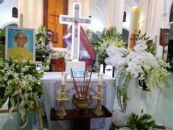 Lễ phát tang Linh mục Phaolô Lê Tấn Thành
