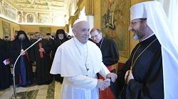 ĐTC mời gọi các Giám mục Công giáo Đông phương hiệp nhất