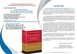 Giới thiệu sách mới: Tuyển tập DENZINGER các Tín biểu, Định tín và Tuyên bố