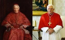 Nhà thần học Joseph Ratzinger và thần học gia John Henry Newman