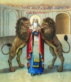 Hạnh các Thánh: 17.10 - Thánh Inhaxiô thành Antiokia