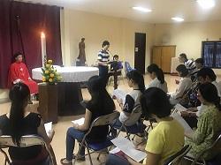 HVMV: Lịch Thánh lễ bằng tiếng Anh Học kỳ II - NK 2017-2018