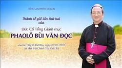 Trực tuyến: Thánh lễ giỗ lần thứ hai của Đức Cố Tổng Giám mục Phaolô Bùi Văn Đọc