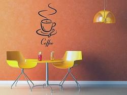 ``Một ly cà phê trên tường``