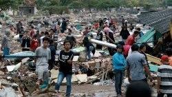 ĐTC Phanxicô liên đới với các nạn nhân sóng thần ở Indonesia