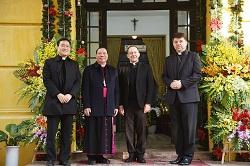 Hoạt động ngoại giao của phái đoàn Tòa Thánh tại Việt Nam