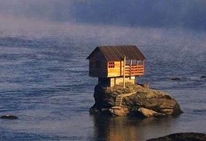 Xây nhà trên đá