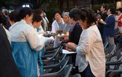 Đêm cầu nguyện với Mẹ Maria cho hòa bình trên bán đảo Triều tiên