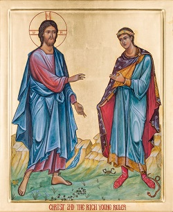 Bức Linh Ảnh mới: Đức Giêsu và người thủ lãnh trẻ giàu có