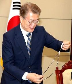 Đức Thánh Cha Phanxicô sẽ tiếp kiến Tổng thống Hàn Quốc