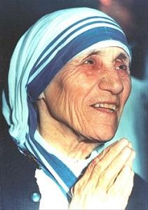 Lời nguyện cùng thánh Teresa Calcutta