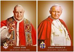 Kỷ niệm 5 năm phong thánh ĐGH Gioan Phaolô II và ĐGH Gioan XXIII