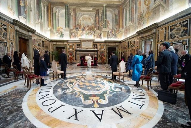 Đức Thánh Cha kêu gọi Cộng đồng Quốc tế gia tăng liên đới