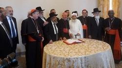 Tuyên ngôn chung của các tôn giáo độc thần có cùng tổ phụ Abraham về các vấn đề kết thúc sự sống