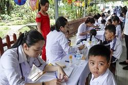 Giới Y tế Công Giáo: Công tác từ thiện tại Củ Chi