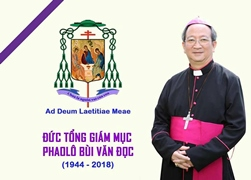 Lễ giỗ Đức Tổng Giám mục Phaolô Bùi Văn Đọc (7.3.2019)